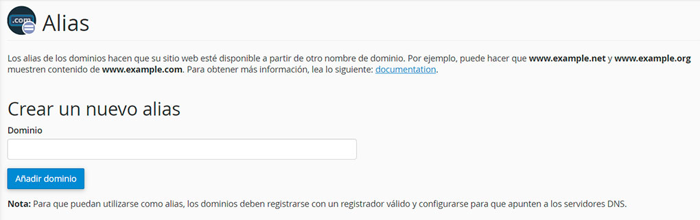 Cambiar de dominio en WordPress