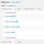 Archivos adjuntos a las notificaciones por correo de WooCommerce