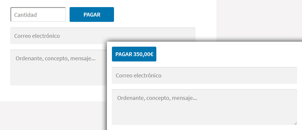 Botón de pago mediante Redsys en WordPress