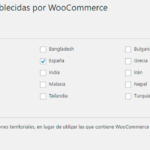 Ignorar territorios de WooCommerce
