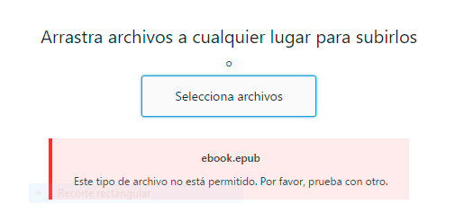 Subir epub a WordPress