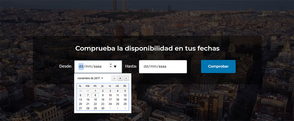 Buscador de disponibilidad para WooCommerce Bookings
