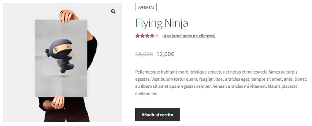Vendido individualmente en WooCommerce