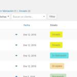 Identificadores y botones de acción en los estados de pedido (a partir de WooCommerce 3.3)