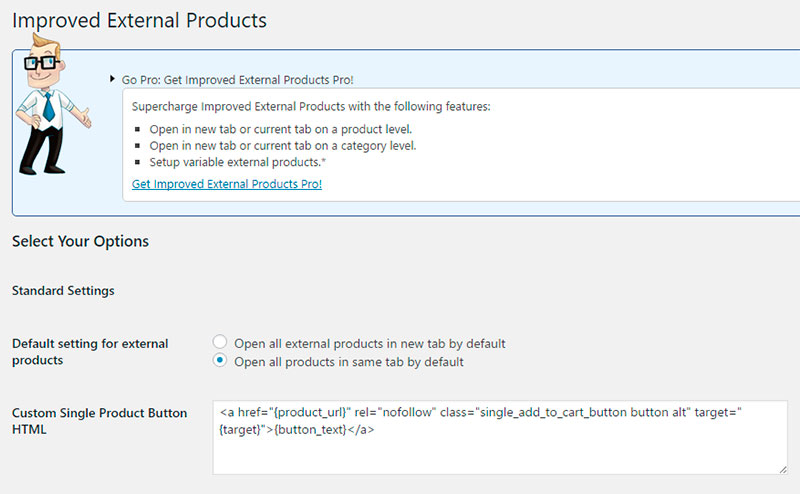 Plugin Improved External Products