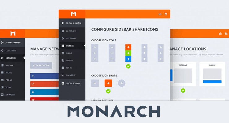 Plugin social Monarch
