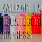 Personalizar la lista de categorías en WordPress
