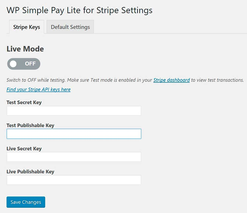 Pagos con Stripe en WordPress