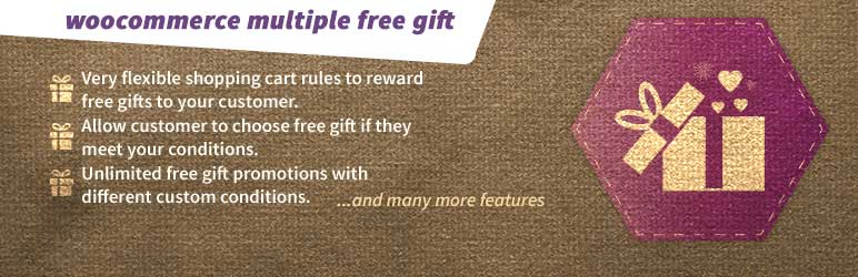 WooCommerce Multiple Free Gifts